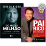 Kit Livro Pai Rico Pai Pobre Do Mil Ao Milhão #primorico