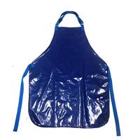 Avental de Plástico Azul Royal