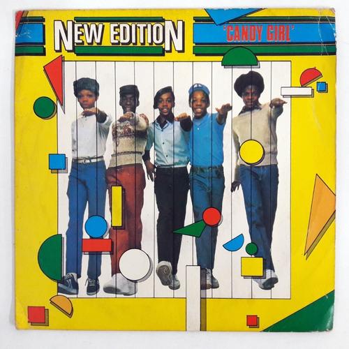 Ep Compacto New Edition Candy Girl Disco De Vinil 1983 Original