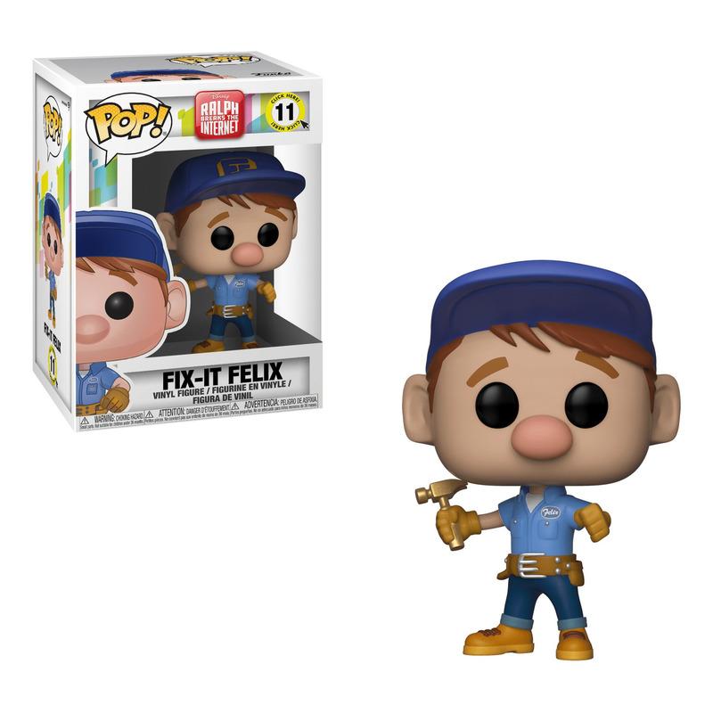 Fix It Felix Pop Funko #11 - Detona Ralph 2 - Disney