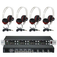 Kit Retorno De Palco 12 Pro Arhae412pro + 4 Fones Live-10