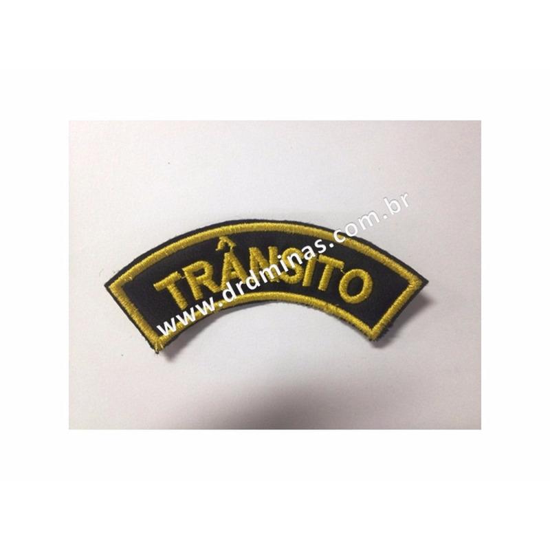 Distintivo Bordado Trânsito - U