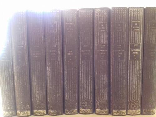 Enciclopedia Judaica 10 Volumes Capa Dura 1967 Em Portugues