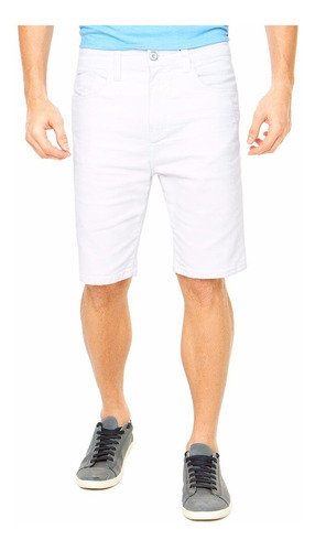 Bermuda Jeans Masculina Colorida Com Lycra Plus Size Grande Original