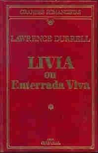 Livro Livia Ou Enterrada Vida Lawrence Durrell Original