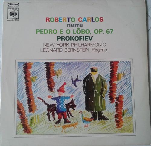 Roberto Carlos - Pedro E O Lobo   - Lp - Ver O Video