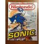 Revista Nintendo Sonic Harry Potter Super Mario Pikmin N°42