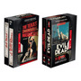 Box Terror Vhs Livro Evil Dead Massacre Da Serra Elétrica