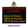 Apostila Completa Cd Dig. Concurso Detran/pa Envio Rápido