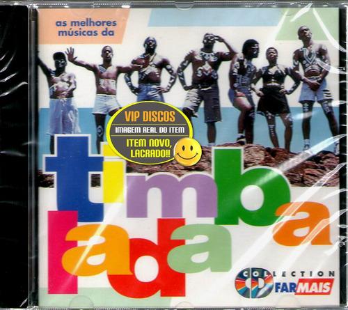 Cd Timbalada Promocional Rede Farmais - Novo Lacrado Raro Original