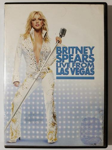 Dvd Britney Spears Live From Las Vegas Original
