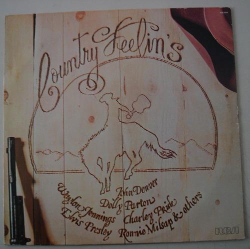 Lp Coutry Feelins- Guittar Man Original