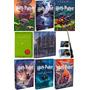 Coleção Harry Potter Livros 2 Ao 7; Quadribol; Varinha E Box
