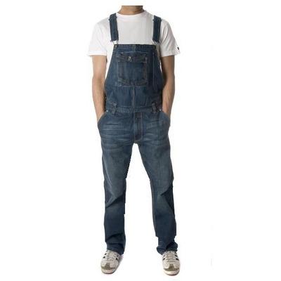 Macac o jardineira homens skiny jeans masculino 36 ao 46 for Jardineira masculina c a