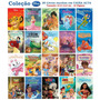 Coleção Disney 20 Livros Ricamente Ilustrados 10x15, 5cm