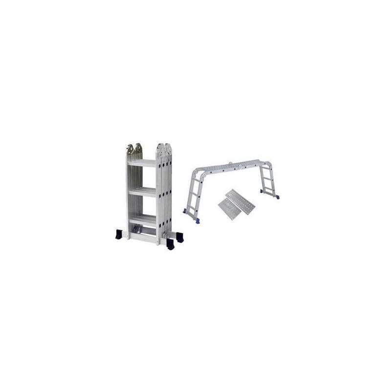 Escada Multifuncional 4x3 C/Plataforma-Mor