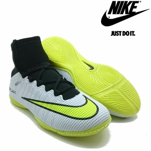 63cfdfb87a Tênis Futsal Nike Botinha Mercurial Cr7 Messi Neymar Queimão à venda ...