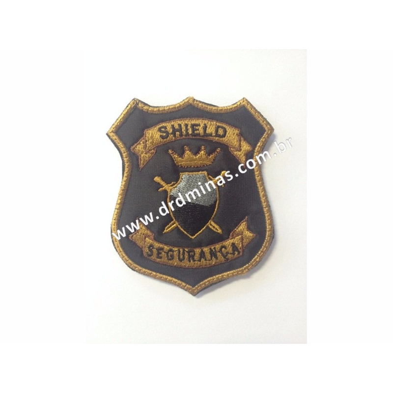 Patch / Distintivo Bordado SHIELD