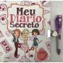 Livro Meu Diario Secreto Com Caneta Magica (pae) Capa Bran