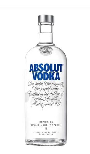 Vodka Absolut  1 Litro Original