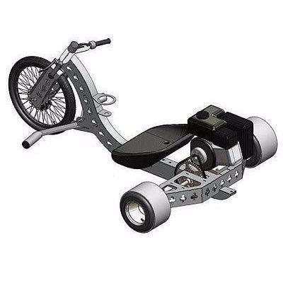 Projeto Completo Triciclo Drift Trike Motorizado +600 Brinde em Rio de Janeiro