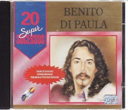 Cd Benito Di Paula: 20 Super Suce Benito Di Paula Original