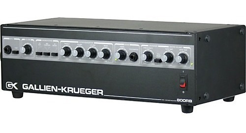 Amplificador Gallien-krueger 800rb Bass Amp Head Amp Baixo Original