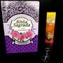 Bíblia Sagrada Feminina Lilás Letra Gigante Luxo Com Caneta