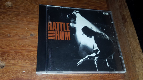 Cd U2 - Rattle And Hum Original