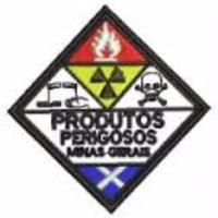 Distintivo Bordado Produtos Perigosos