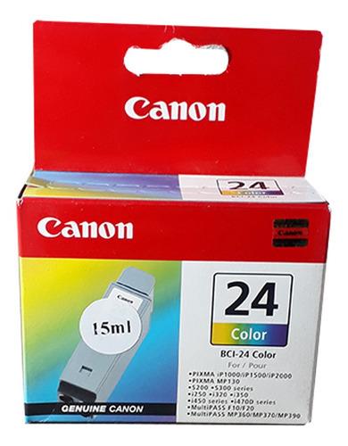 Cartucho Canon Bci-24 Color 3x 5ml -   Fora De Linha Original