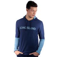 Camiseta Manga Longa Long Island Marinho