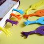 Marcadores De Página Mãozinhas Criativas Conjunto Com 4 Pçs