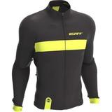 Camisa Ciclismo Mtb Ert Manga Longa Nova Tuor Strip Black