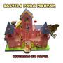 Castelo Diversão Com Brinquedos De Papel Para Montar Craft