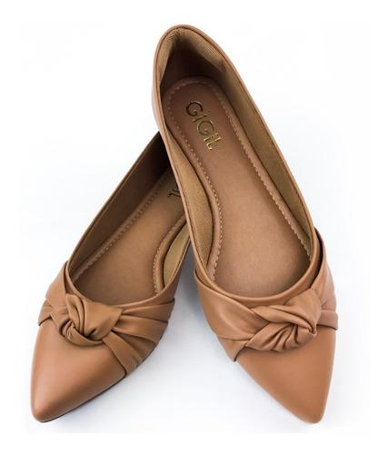 Sapatilha Feminina Sandalia Rasteirinha Sapato Conforto G10 Original