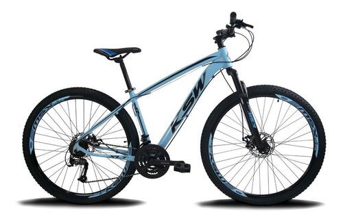Bicicleta Aro 29 Ksw Xlt  Aluminio 21v Cambios Index Original