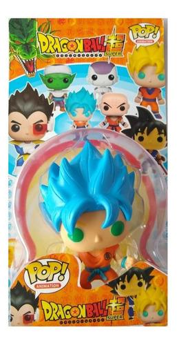 Boneco Funko Pop Animes Dragon Ball Z Goku Cabelo Azul Original