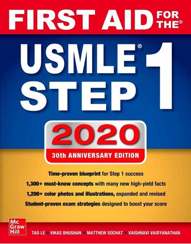 First Aid For The Usmle Step 1 (2020) Original