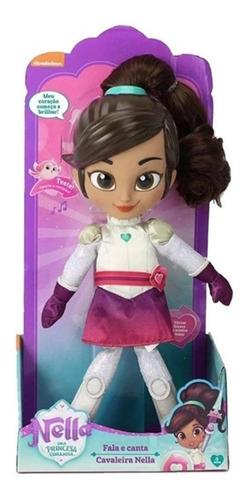 Boneca Nella Uma Princesa Corajosa Fala E Canta 32 Cm 4691 Original