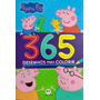 Livro Para Colorir 365 Desenhos Peppa Pig Infantil Ciranda