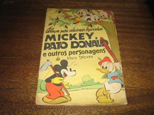 Album De Figurinhas Mickey,pato Donald E Outros 1959 Vecchi