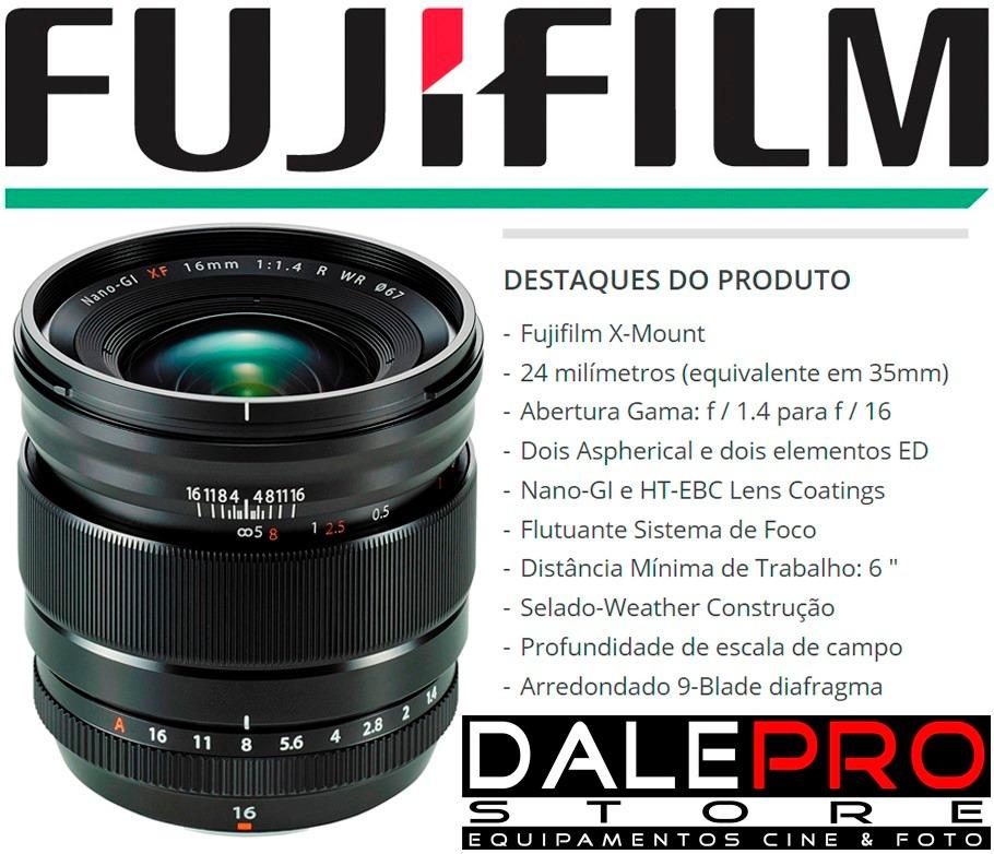 Fuji 16mm F1.4